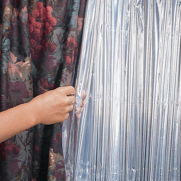 Reflective Window Curtain Panel
