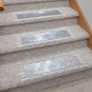 Clear Stair Carpet Protector