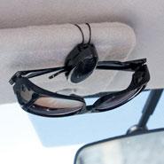 Auto & Travel - Eyeglass Visor Clip