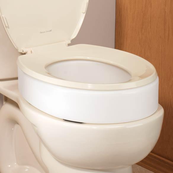 Discreet Toilet Seat Riser