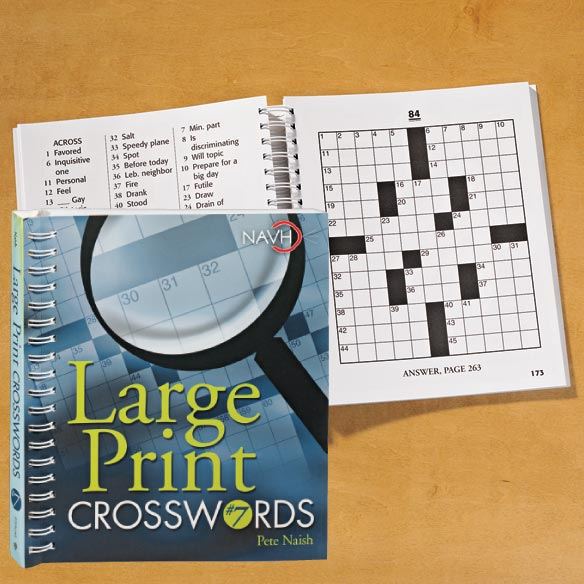 Large Print Crossword Puzzle Book