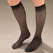 Compression Hosiery - Knee High Support Hose For Women - 9 Pack
