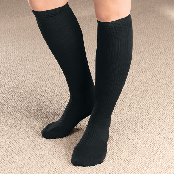 Women's Light Compression Socks - View 1