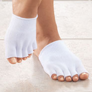 Foot Care - Open Toe Gel Socks