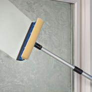 Home Necessities - Telescoping Window Squeegee