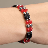 Apparel Accessories - Rose Hematite Bracelets - Set Of 2