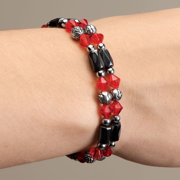 Rose Hematite Bracelets - Set Of 2