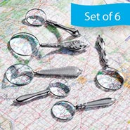 6 Piece Magnifier Set