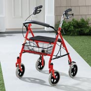 Walkers - Durable Steel Rollator