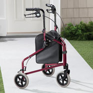 Walking Aids - Easy Folding 3 Wheel Rollator       XL