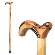 Walking Canes - Wood Cane With Derby Handle