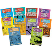 Hobbies & Books - Brain Games - Set of 10