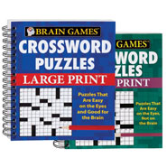 Hobbies & Books - Large Print Crossword