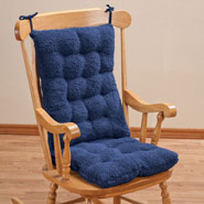 Cushions & Chair Pads - Sherpa Rocking Chair Cushion Set by OakRidge Comforts™