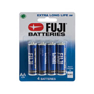 Home Necessities - Fuji AA Batteries - 4-Pack