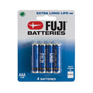 New - Fuji AAA Batteries - 4-Pack