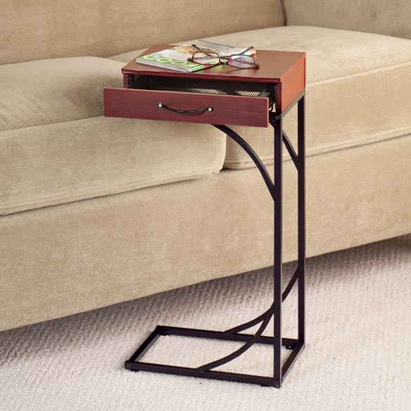 Sofa side table with drawer easycomforts Sofa side table