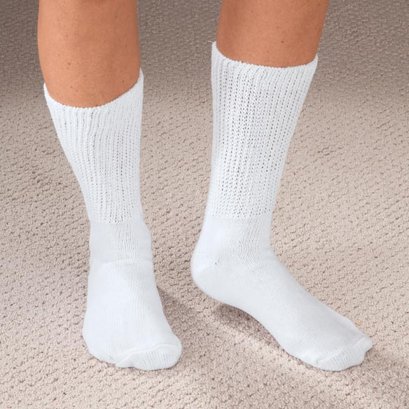 Extra Wide Medi Socks - 2 Pair