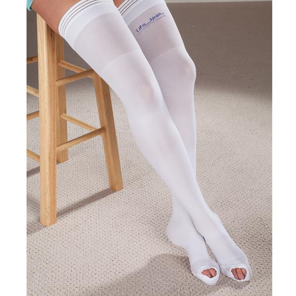 LifeSpan® Anti-Embolism Thigh Highs