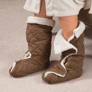 Comfort Footwear - Sherpa Lined Leg & Foot Warmers