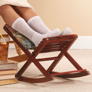 Furniture - Foldable Rocking Footrest