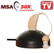Hearing Loss - MSA 30X® Sound Amplifier