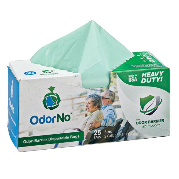 Odor-Barrier Bags - 2 Gallon