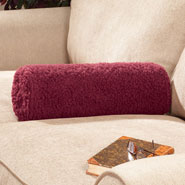 Home Necessities - Sherpa Armrest Pillow by OakRidge Comforts™