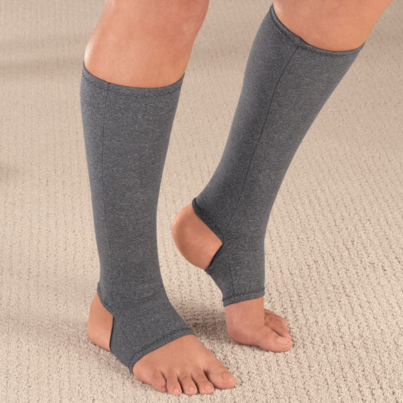 Light Compression Cotton Blend Socks - 15-20 mmHg