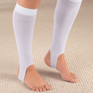 Compression Hosiery - Light Compression Stirrup Knee Hi Pair
