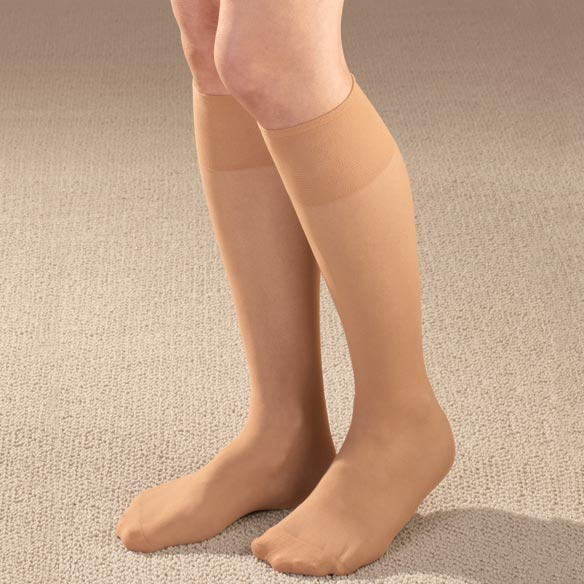 Diabetic Knee High Sheer Hose