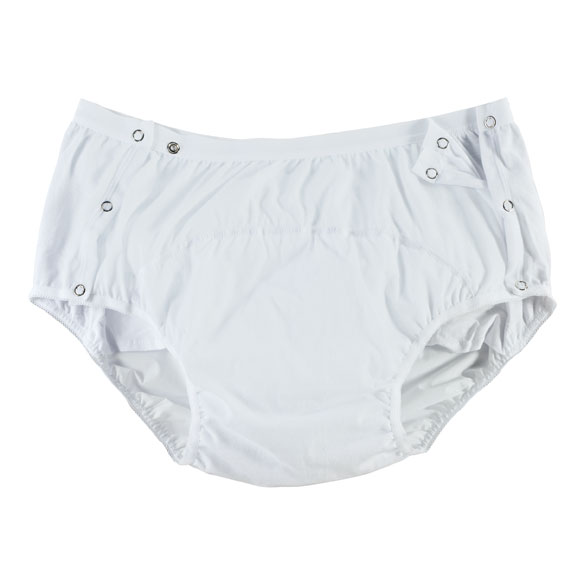 Cotton Snap-Closure Protective Pants