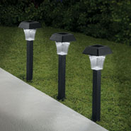 Outdoor - Pathway Solar Lights - Set Of 3