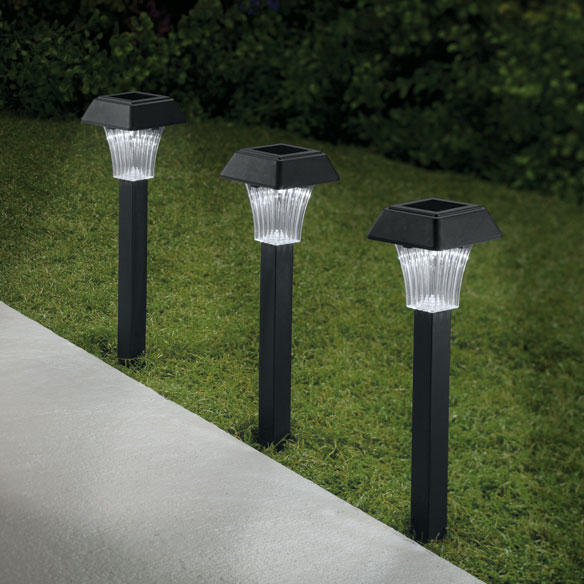 Pathway Solar Lights, Set of 3