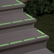 Home - Glow in the Dark Safety Strips, Set of 12