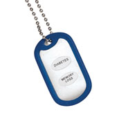 Apparel Accessories - Medical Alert ID Tag Necklace Set of 2