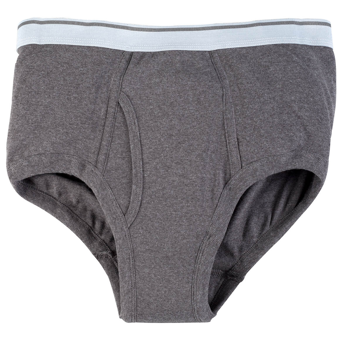 Incontinence Briefs For Men - 20 Oz. Gray-348098