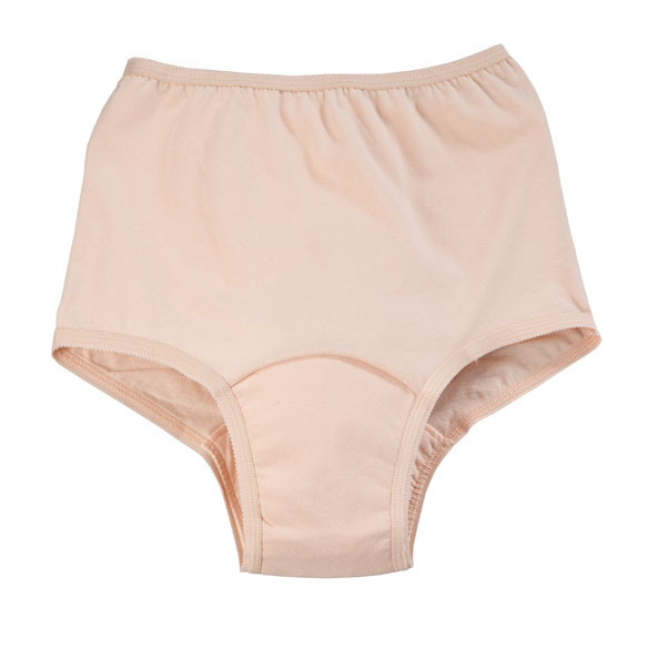 Incontinence Panties For Women - 12 Oz. Beige