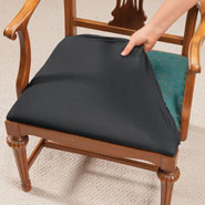 Home Necessities - Stretch N' Fit Chair Cover - Set Of 2
