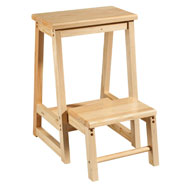 Furniture - 2-In-1 Step Stool Chair