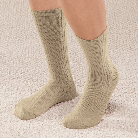 Graduated Compression Diabetic Crew Sock - View 1