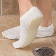 Bathroom Safety - Men's Non-Slip Shower Slippers