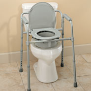 Bathroom Safety - Folding Commode                              XL