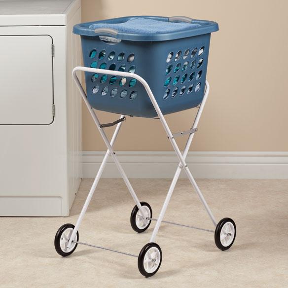 Folding Laundry Cart