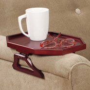 New - Wooden Armchair Tray