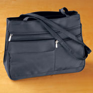Clearance - Six Pocket Navy Handbag