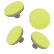 Walker Glide Cap Replacements - 4 Pack