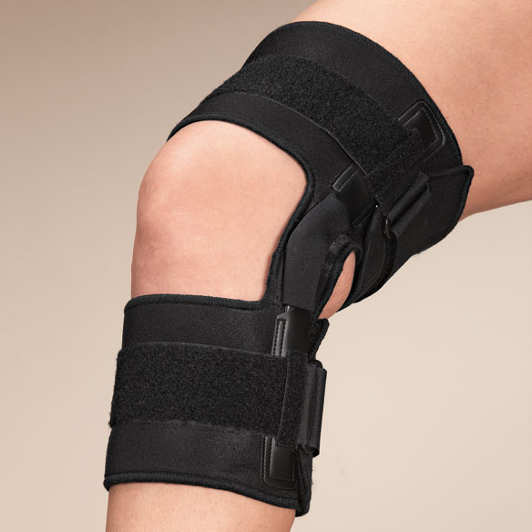Knee Brace With Metal Support