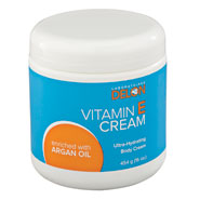 Anti-Aging - Vitamin E Cream Infused With Argan Oil