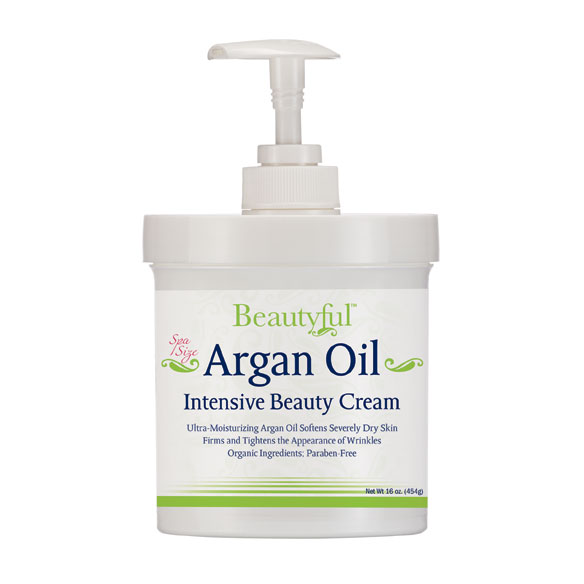 Argan Oil Intensive Beauty Cream, 16 Oz.